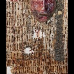 papier mache blood nails